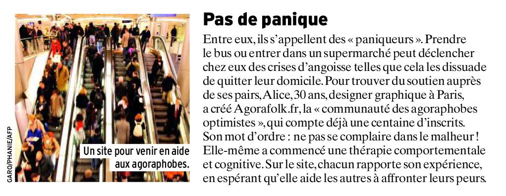 Agorafolk dans l'Express